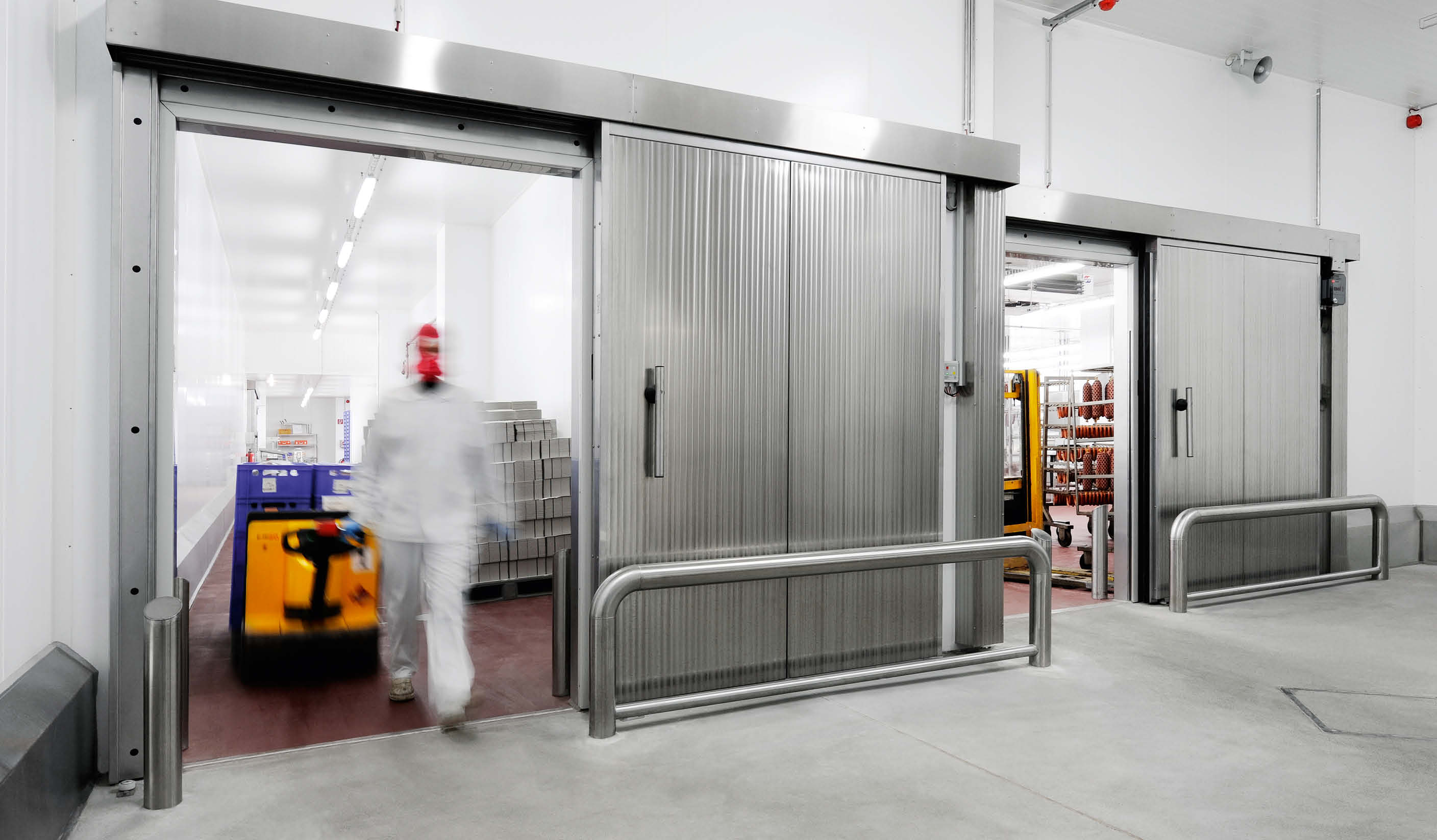 KTS-T90 Fire rated sliding door for freezers with 90 minutes fire protections properties and german approvals